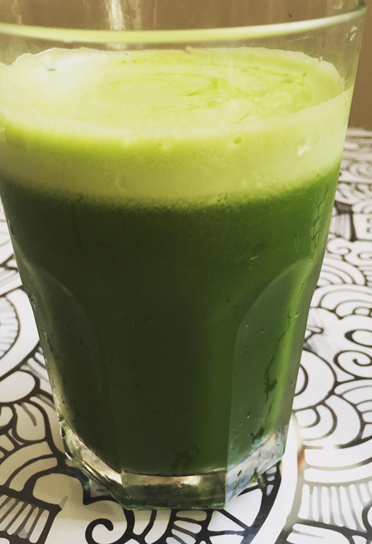 suco verde)